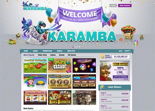 grote selectie games bij Karamba