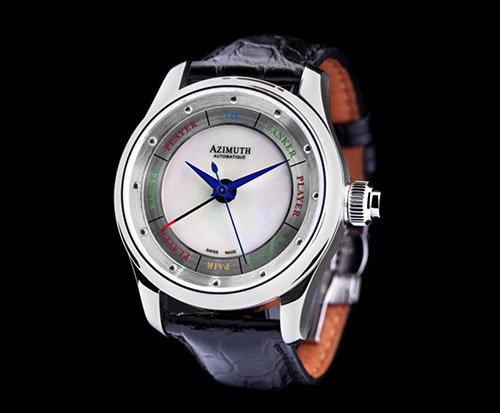 Azimuth Round-1 baccara horloge