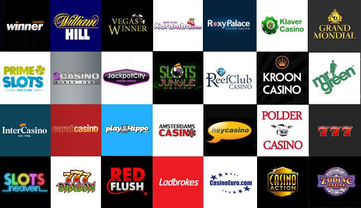 casino bonussen van meer dan 50 casino's