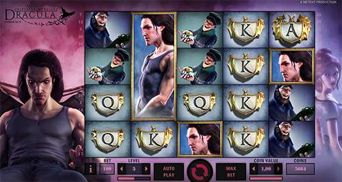 online casino game dracula