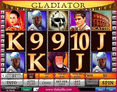 online casino game gladiator