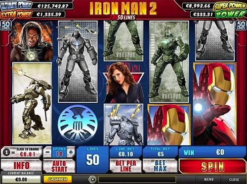 online casino game iron man 2