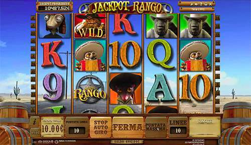 online casino game rango