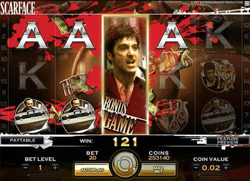 online casino game scarface