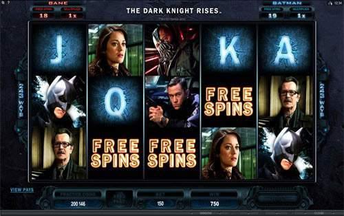 online casino game the dark knight rises