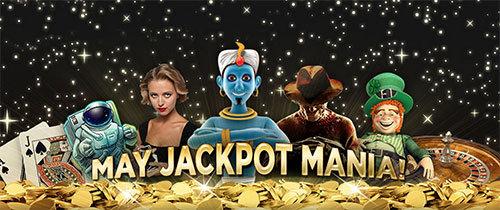 may jackpot mania 888 bonus actie
