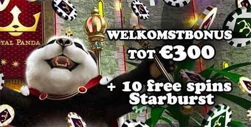 royal panda casino welkomstbonus € 300