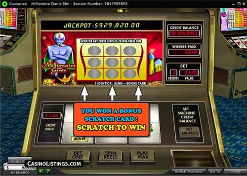 jackpot bij millionaire genie