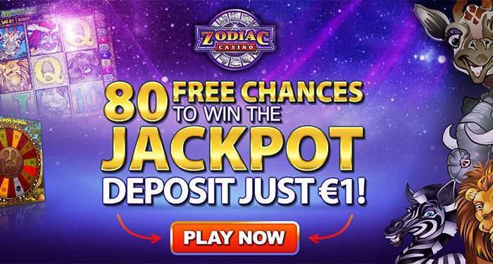 zodiac casino 1 euro kans op de jackpot