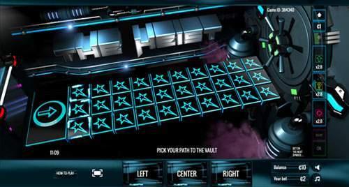 The Heist is een skill based casino spel