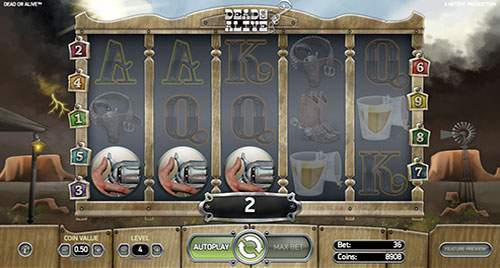 dead or alive slot free spins