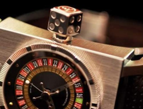 Casino watch for your wrist!