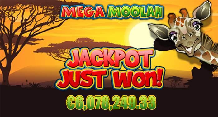 mega moolah jackpot win captain cooks casino