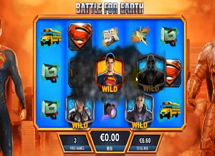 playtech man of steel slot game shifting wilds