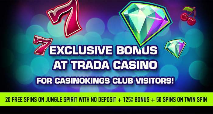exclusive no deposit bonus at trada casino