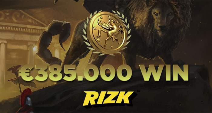 The Rizk Halloween Progressive Jackpot Winner