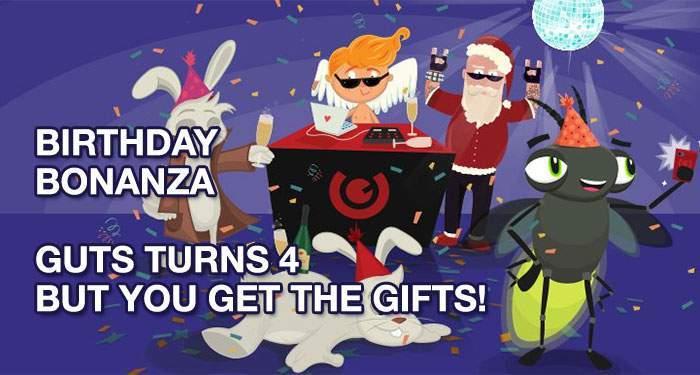 guts casino turns 4 and celebrates