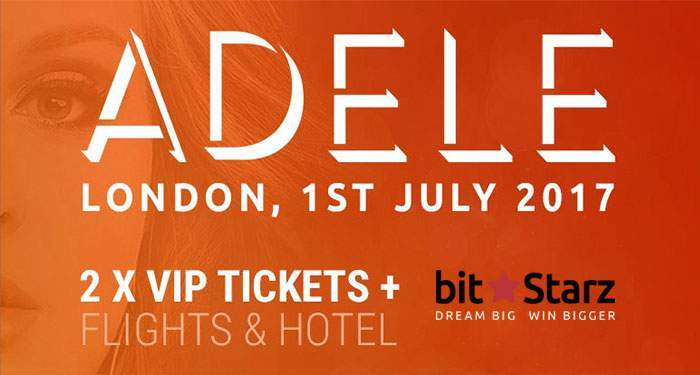 win VIP tickets for adele in concert london
