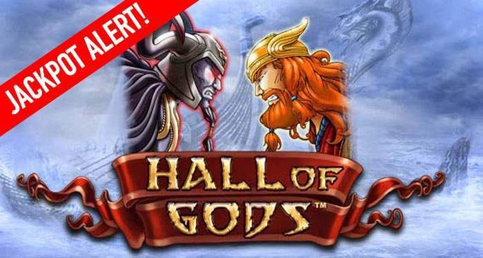 hall of gods jackpot alert