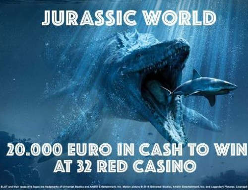 20.000 GBP in cash prizes at 32Red!