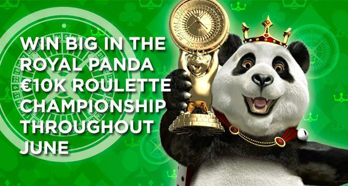 win 10.000 euro in the royal panda roulette tournament