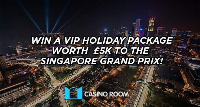 win VIP holiday package to grand prix of singapore at casinoroom