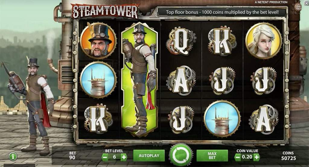 steam tower bonus game
