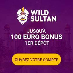 Wild Sultan Welcome Bonus  up to 200 Euro