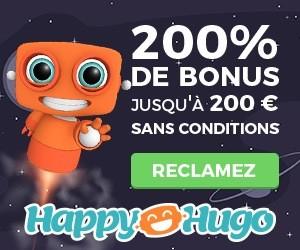 happy hugo casino bonus