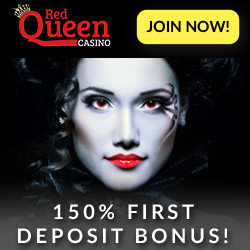 casinobonus at red queen casino