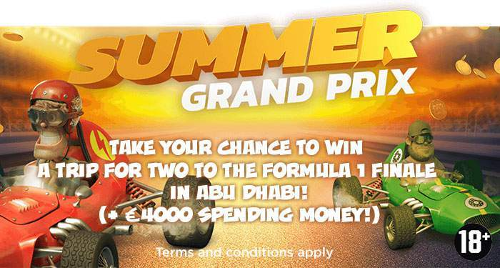 win tickets to the grand Prix of Abu Dhabi