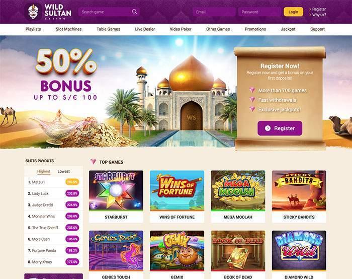 Интернет казино султан стимулирующая лотерея игровые автоматы новости 2010