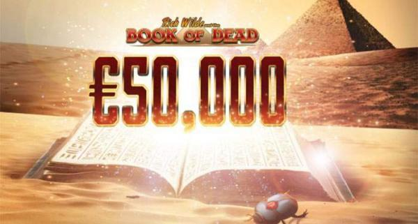 book of dead 50,000 promo at guts casino