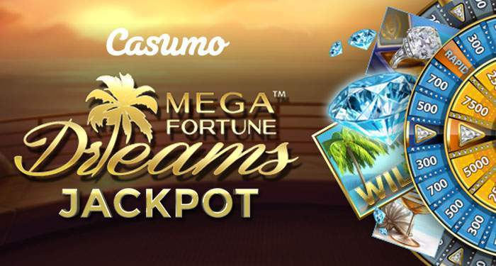 mega fortunee dreams jackpot at Casumo