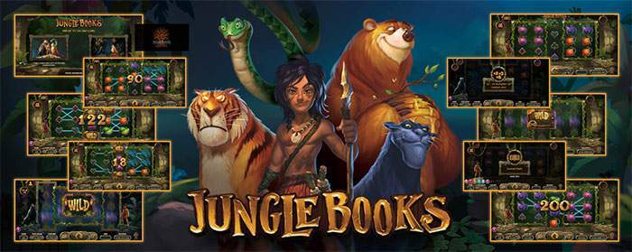 jungle books slot five games