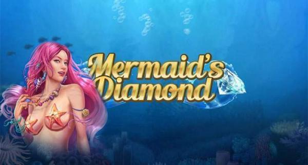 mermaid's diamond play n go online slot game