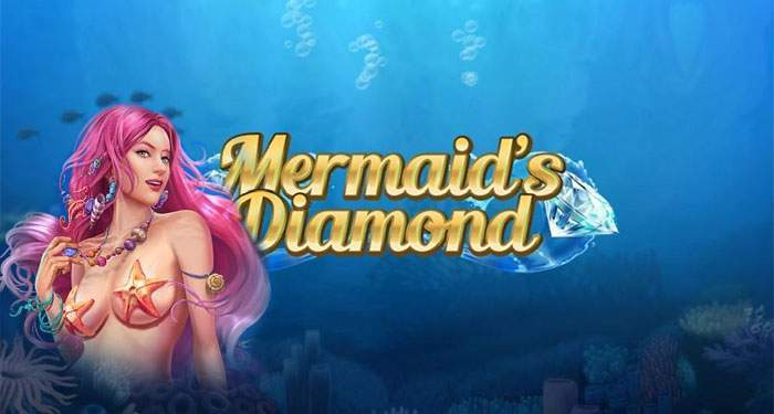 mermaid's diamond play n go online slot game