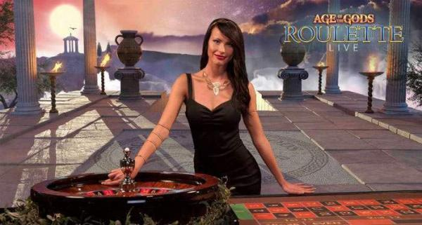 age of gods live roulette by playtech