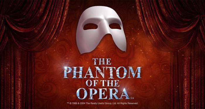 win tickets phantom of the opera at mr. Green