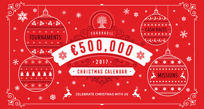 yggdrasil christmas calendar promotion
