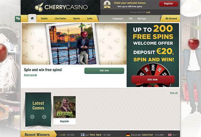 cherry casino withdrawal time