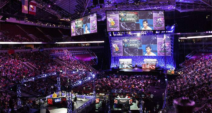 The international is the biggest e-sports event dota 2