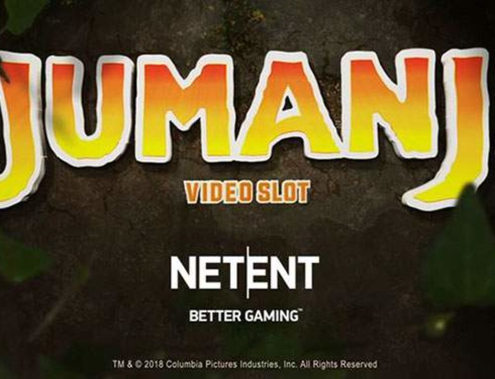 Jumanji video slot is coming from Netent and Sony Pictures Entertainment