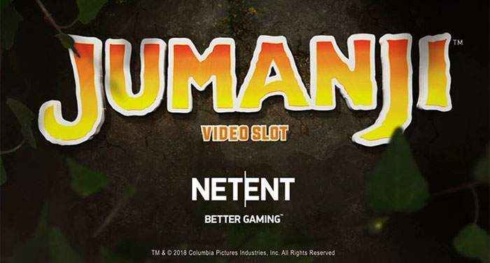 jumanji slot will be launched by Netent and Sony pictures Entertainment
