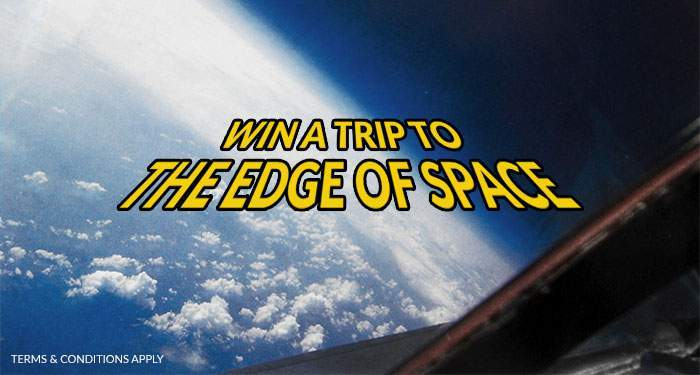 win a trip to the edge of space with Kroon casino and Netent