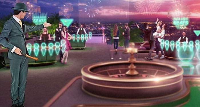 virtual 3d casino experience by netent and Mr. Green