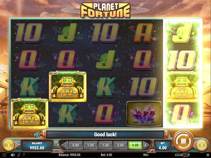 planet fortune free spins robots
