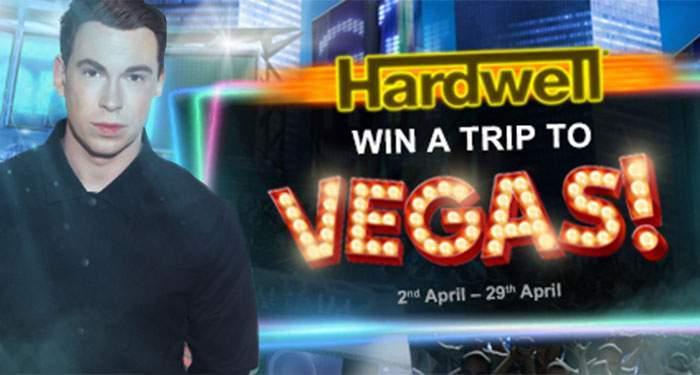 win trip to las vegas dj Hardwell
