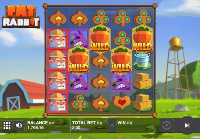fat rabbit casino slot review bonus carrots