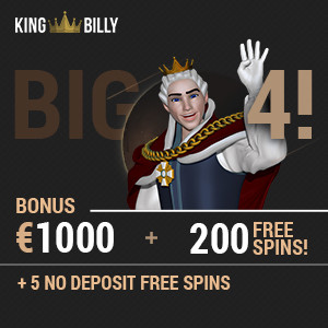 king billy casino welcome package